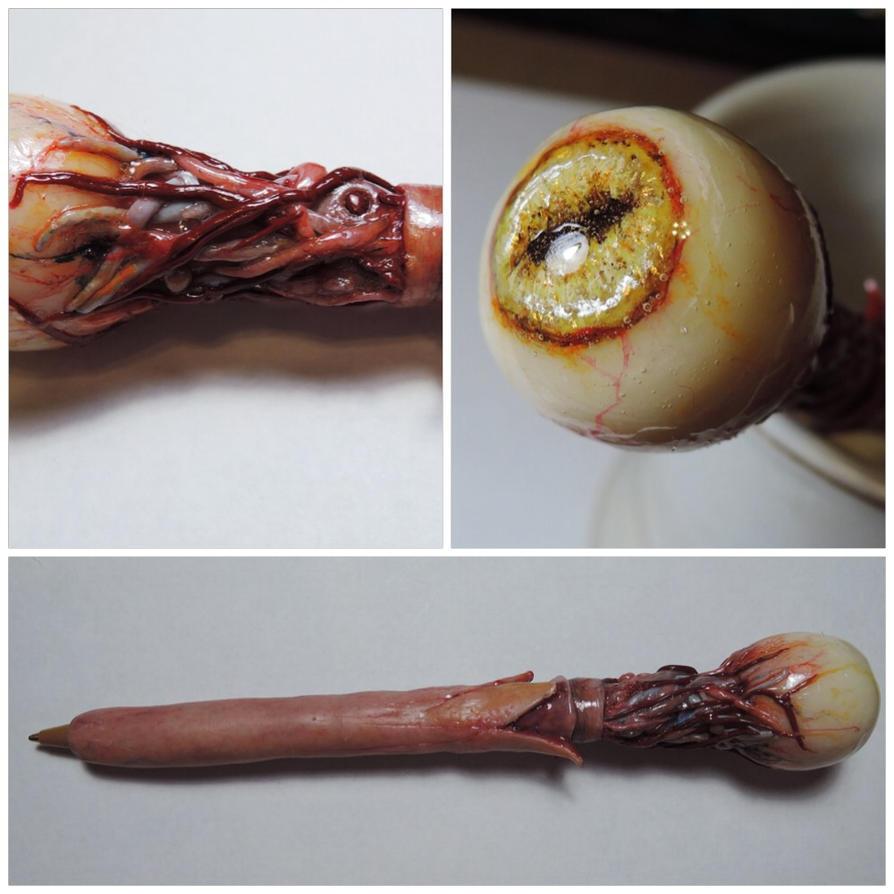 EYE ball point pen by MorgansMutations