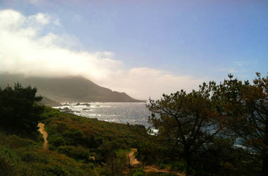 Pacific Ocean, California - Highway 1 by MorgansMutations