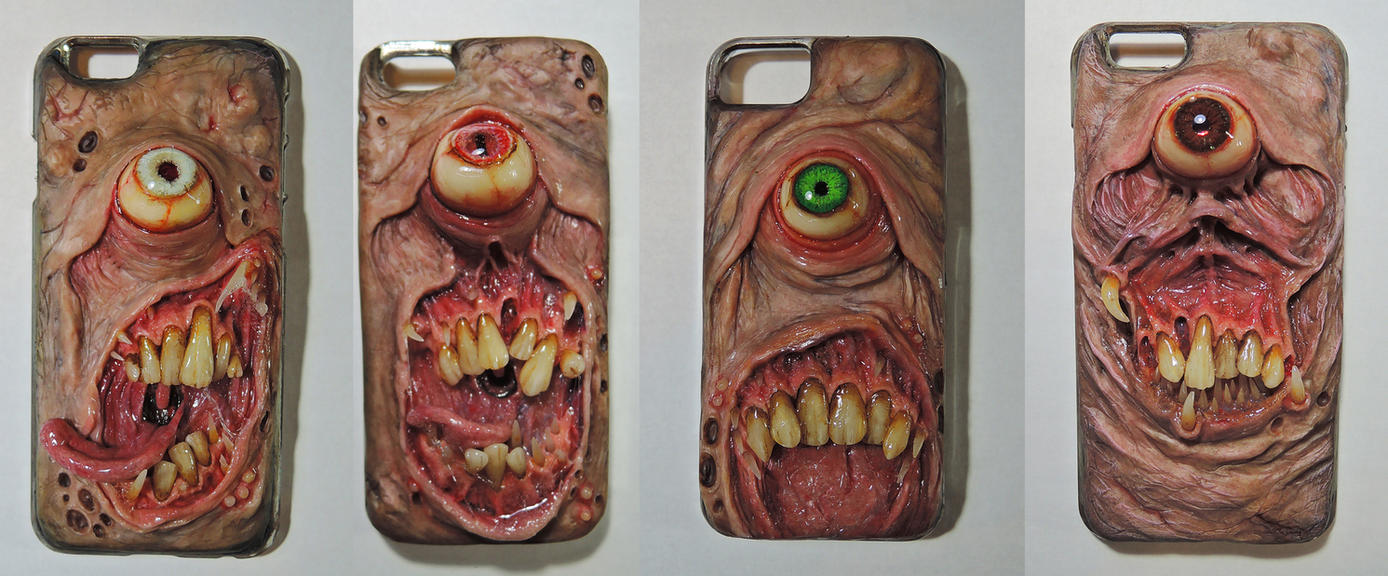 Custom iPhone cases 6-5/5s by MorgansMutations
