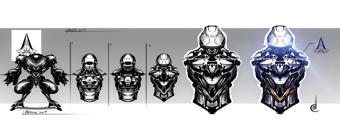 Pilot suit / plastron by Jun-OH