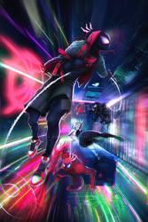 spiderman into the spiderverse fan art