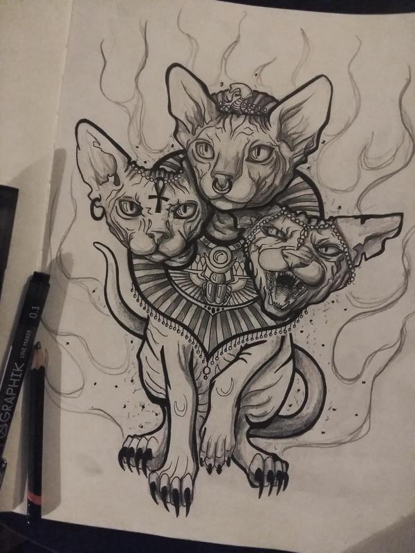 kitty cat by StellarIceCream