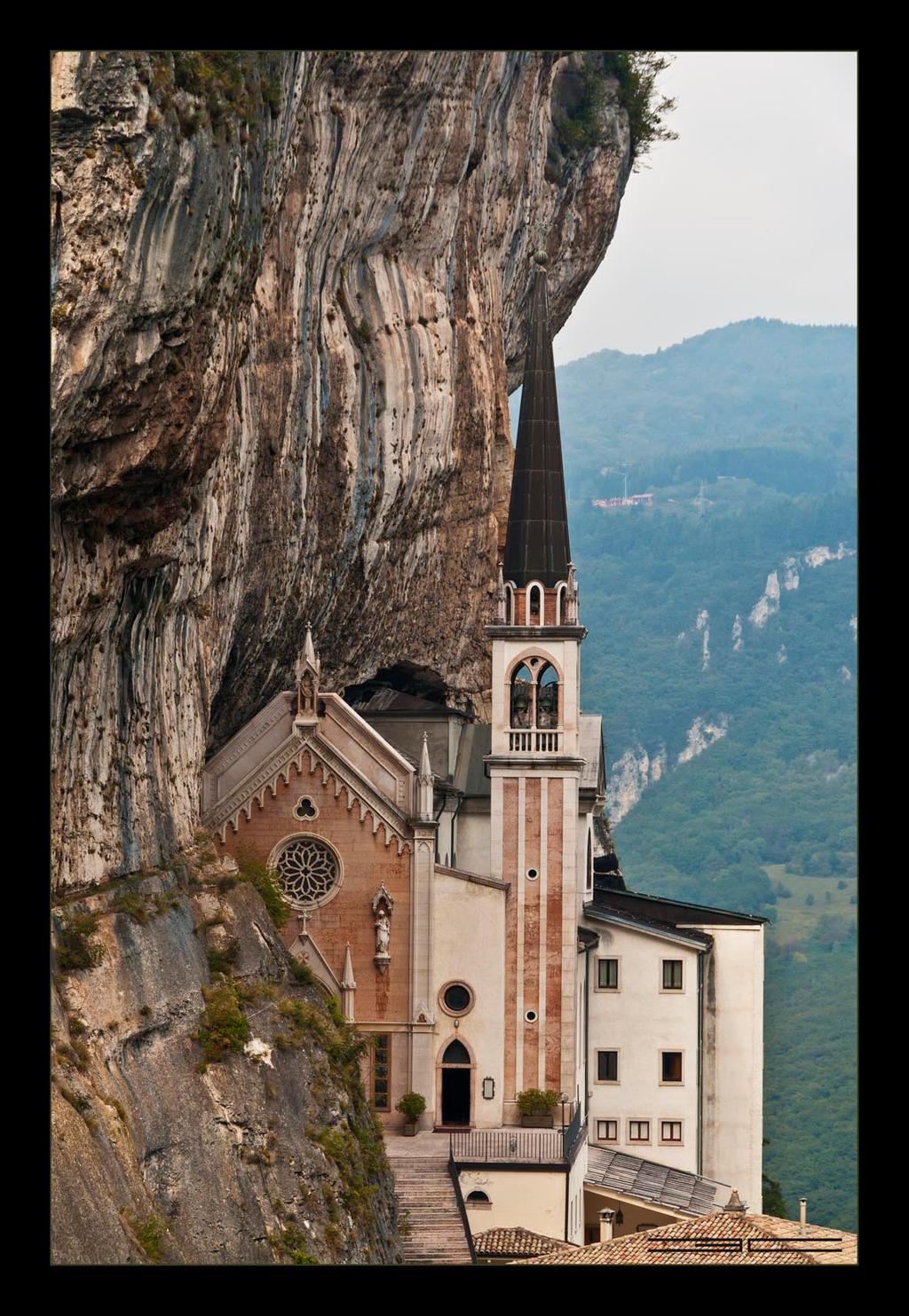 Santuario madonna della corona vi by emilio casini on for Santuario madonna della corona