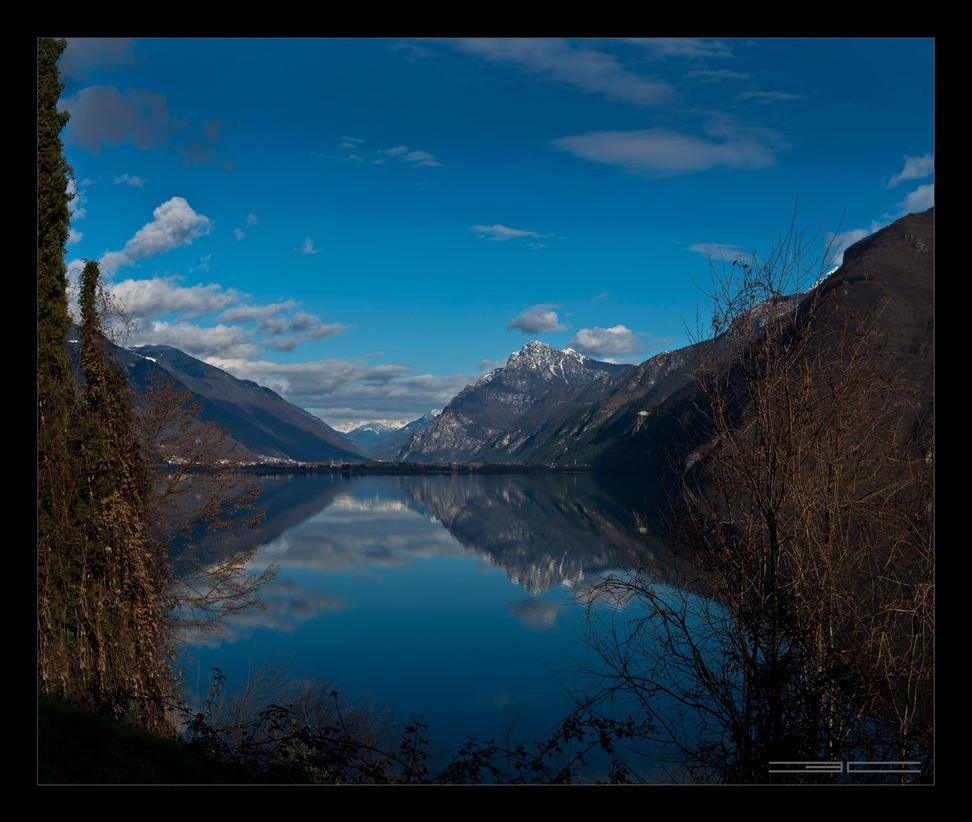 Lago d'Idro I by Emilio-Casini