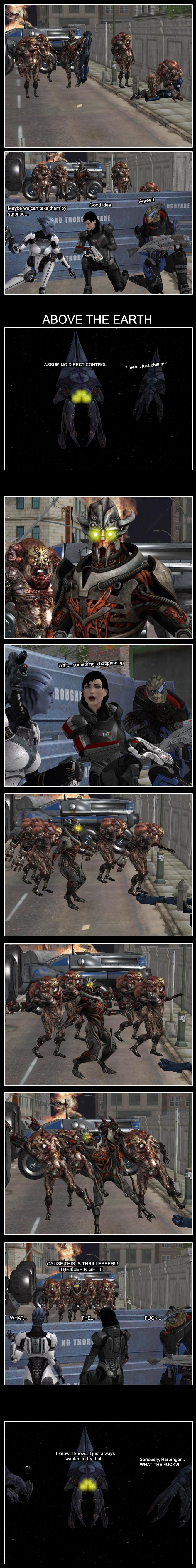 Mass Effect Thriller by Yuri-World-Ruler
