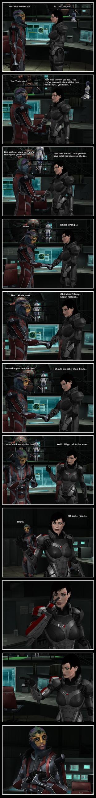 Jealous Shepard by Yuri-World-Ruler
