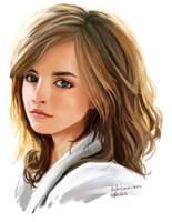 Emma Watson by lululime-on