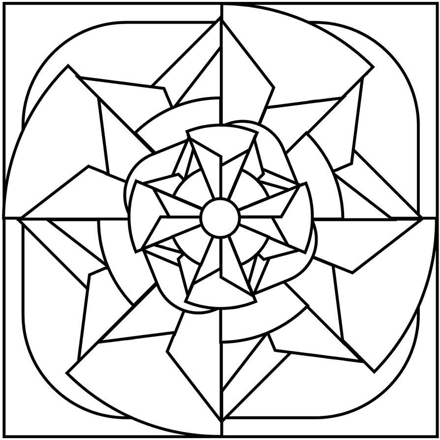 blog flor de pequi mosaicos para colorir