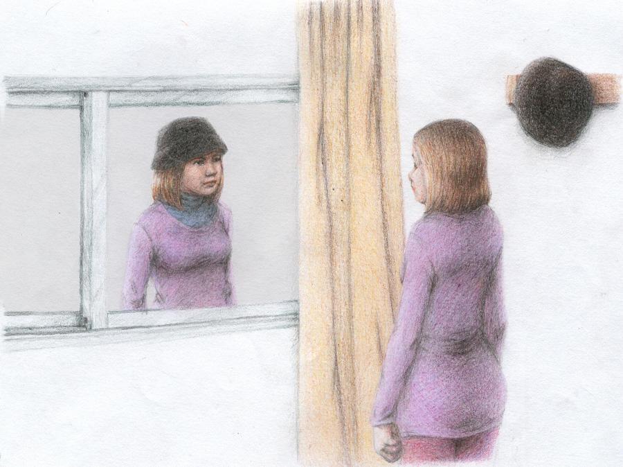 La ventana by PurpleRedRose