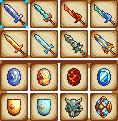 Swords and shields by chuchuchuso