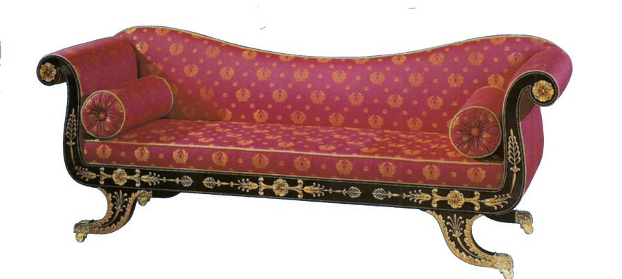 Royal Red Antique Couch By Jinifur On Deviantart