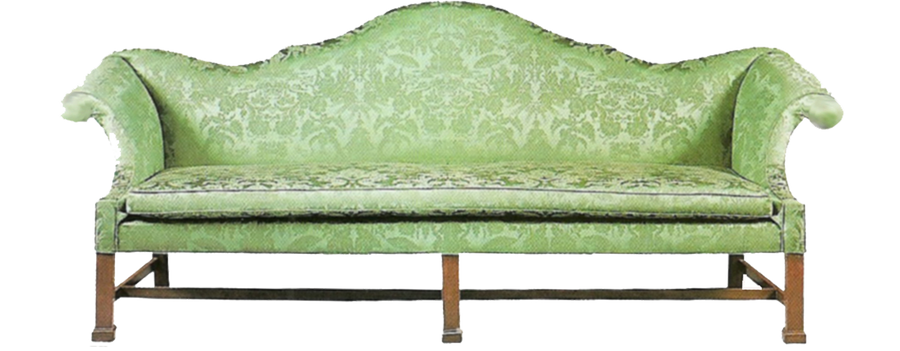 Green Antique Sofa By Jinifur On Deviantart