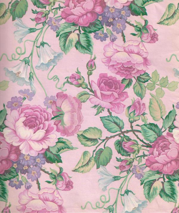 Pink flower pattern by jinifur