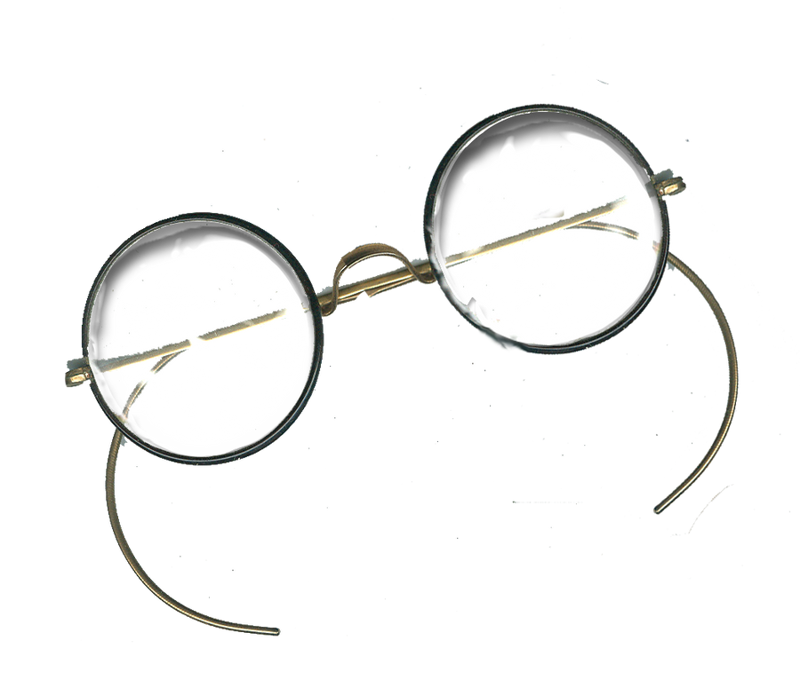 Antique Round Glasses