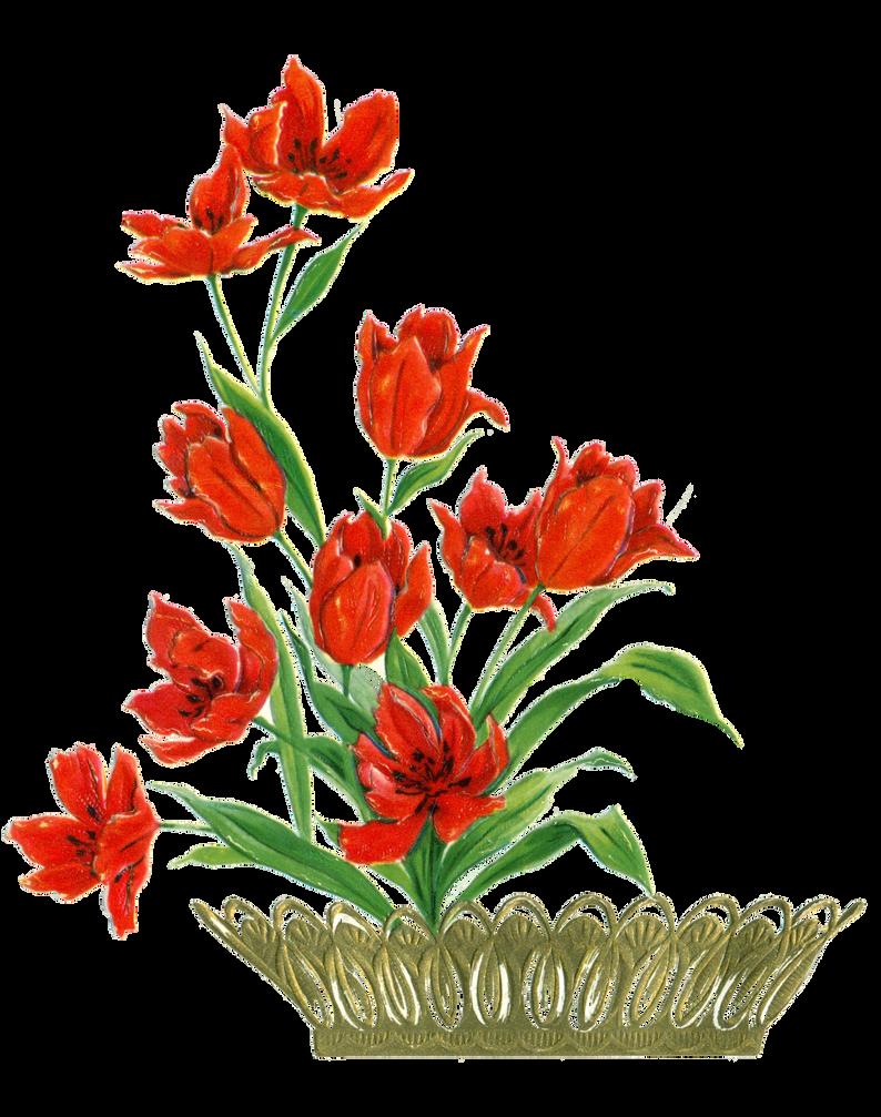 Flower card element by jinifur