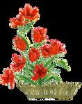 Flower card element
