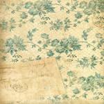 Vintage ivy scrap page