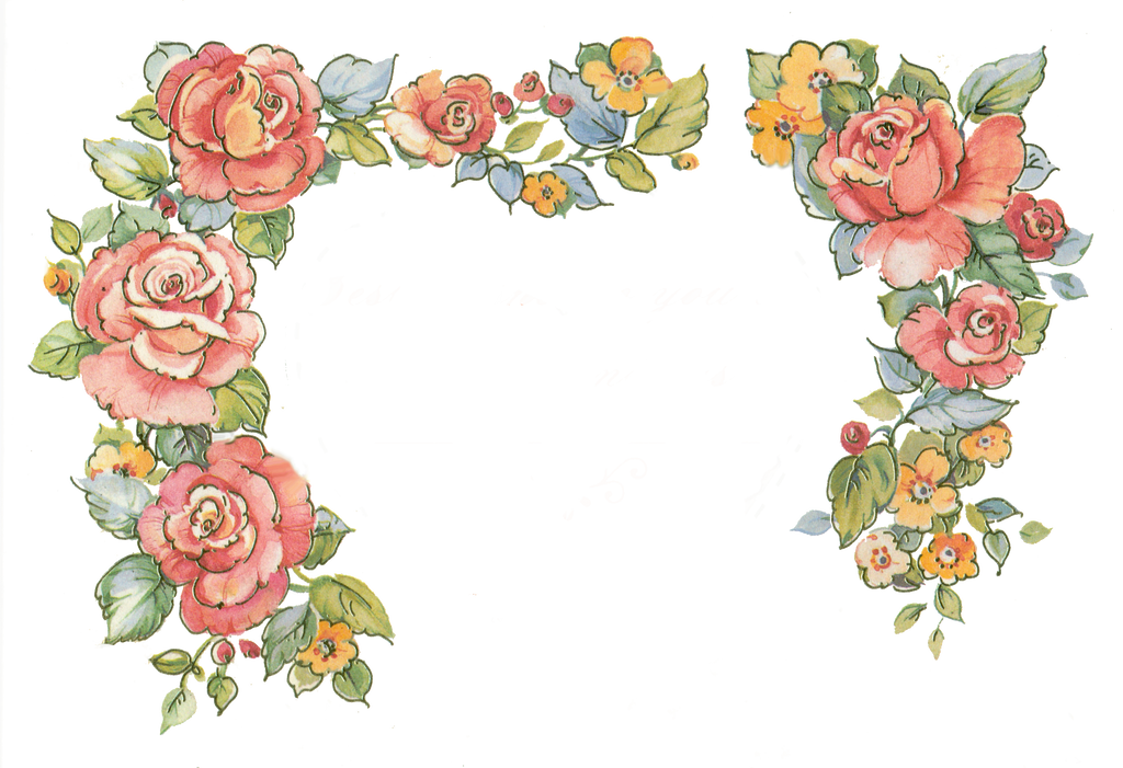 Jinifur Border Roses By