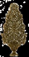 Jinifur Gold Tree Christmas