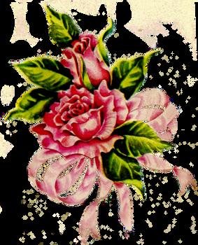 Jinifur Ribbon Rose