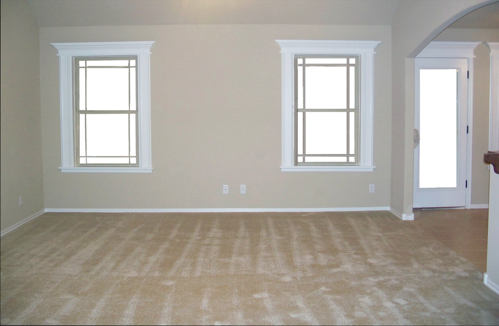 Empty Living Room Apartment