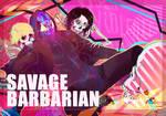 Savage, Barbarian by andreadeidei-chan