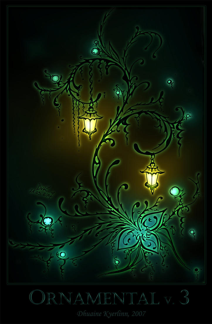 Ornamental 3 Color by Dhuaine