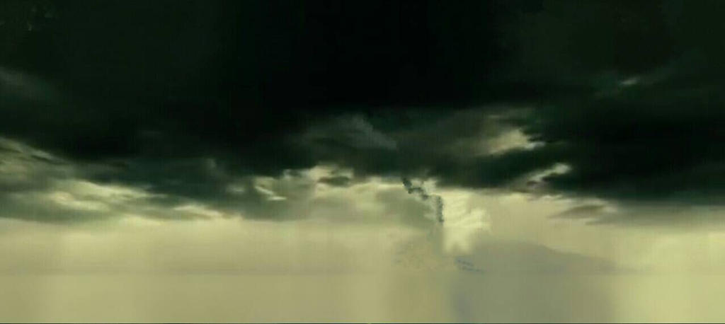 jerry bruckheimer films logo dark storm clouds