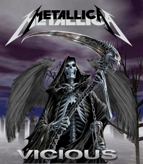 Metallica album cover by IGMAN51 on DeviantArt