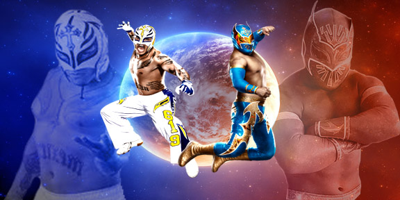 rey mysterio and sin cara wallpaper by igman51 on deviantart