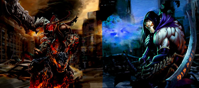 Darksiders War Wallpaper By: Darksiders Wallpaper By IGMAN51 On DeviantArt