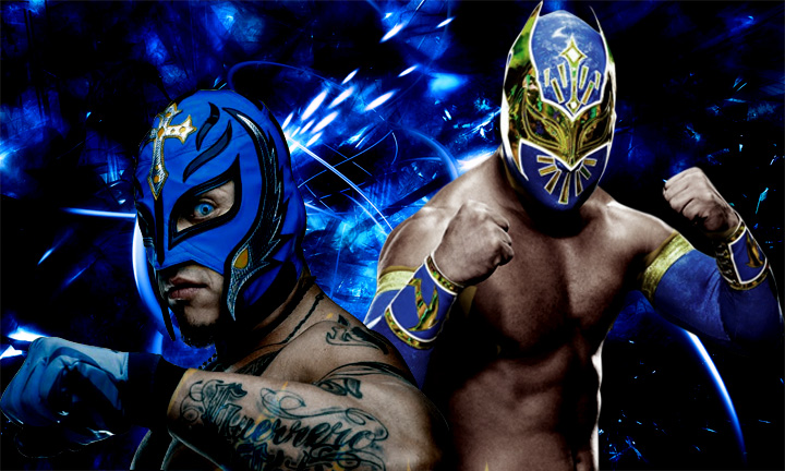 Rey Mysterio and Sin Cara by IGMAN51 on DeviantArt