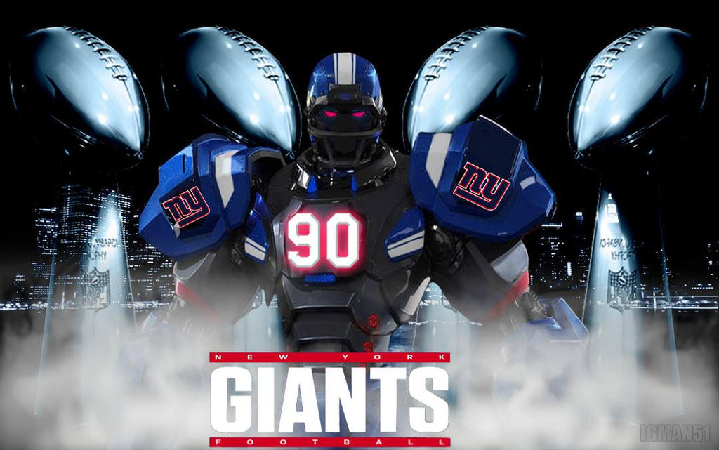 New York Giants Fox NFl Bot Wallpaper By IGMAN51
