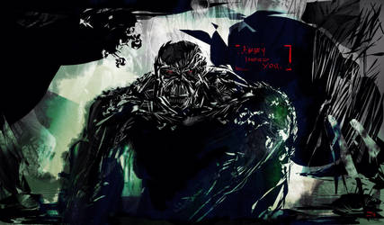 Swamp Thing Fan art