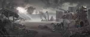 Seattle Post Apocalypse: Matte Painting Art