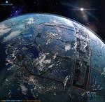 CG Blue Planet