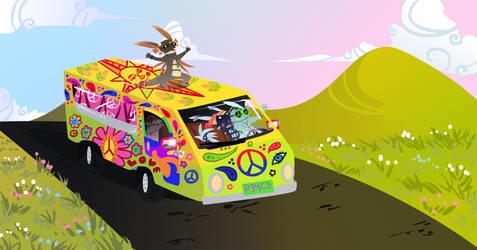 CULT ROAD TRIP by KiteCuriosity