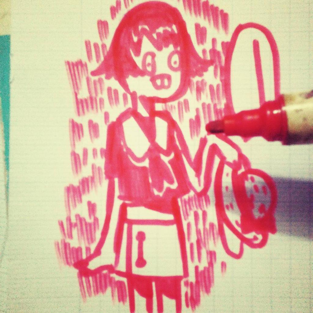 Girl by pilugoaway