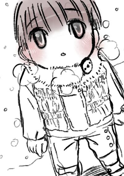 oh! It's snowing! by pilugoaway