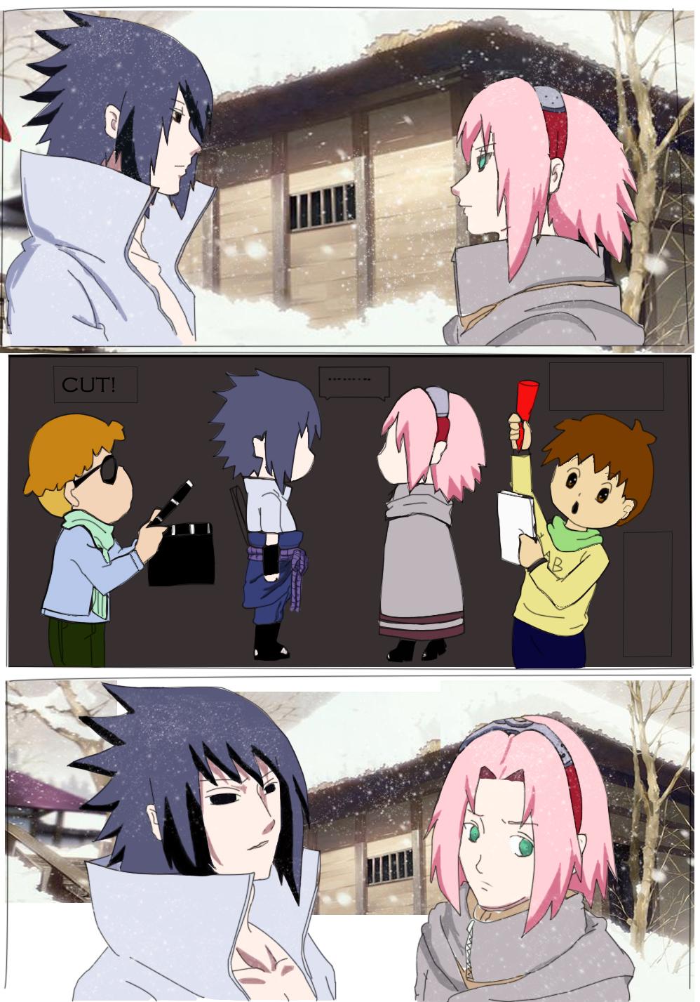 sasuke and sakura dating