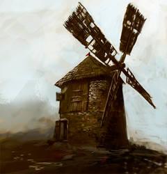 windmill by kresbicky