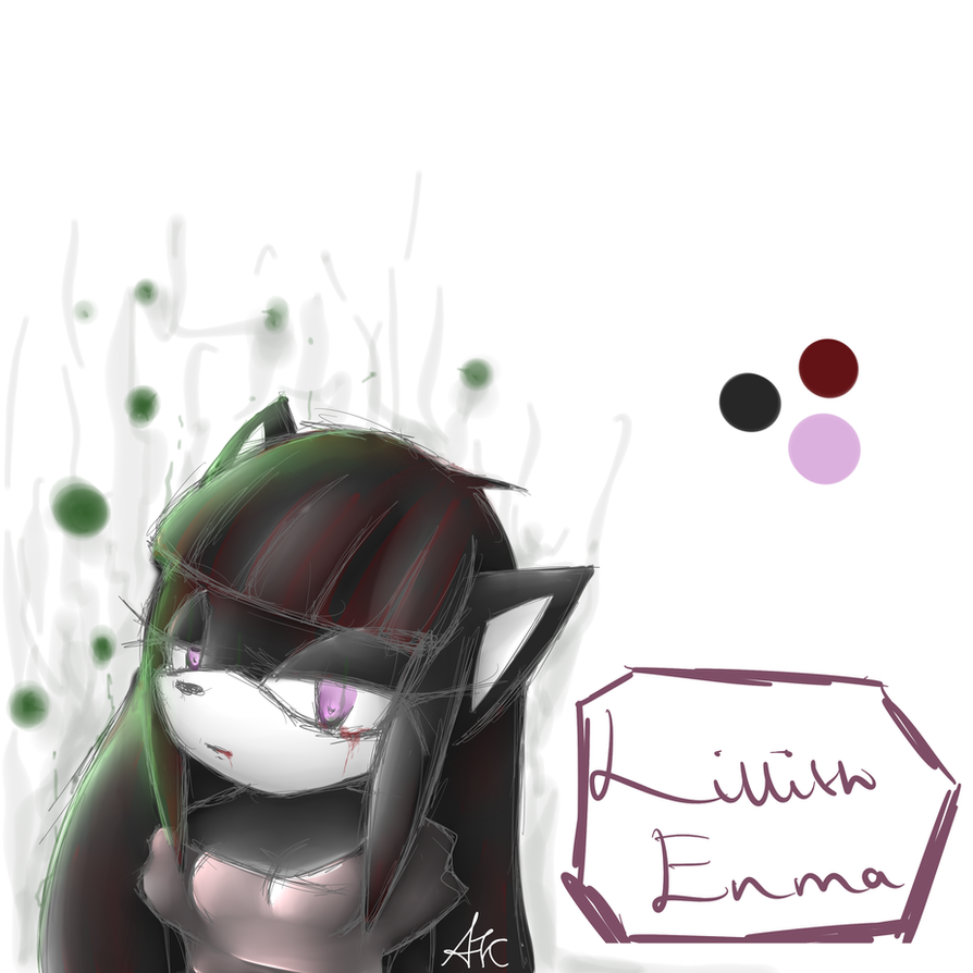 New Character - Lillith Enma by shadowBlazeLOVER