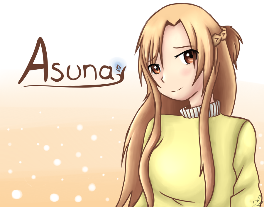 SAO - Asuna by shadowBlazeLOVER