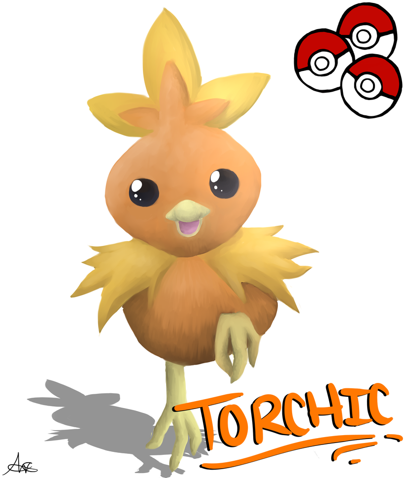 Torchic by shadowBlazeLOVER