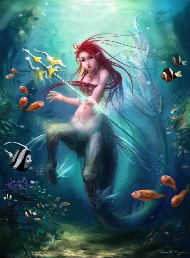 Sea Centauress by minties