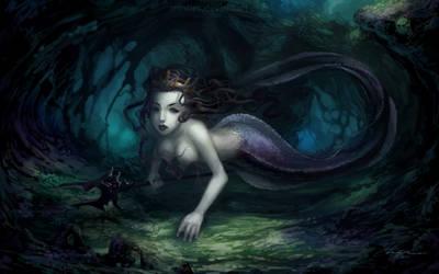 The Eel Mermaid by minties