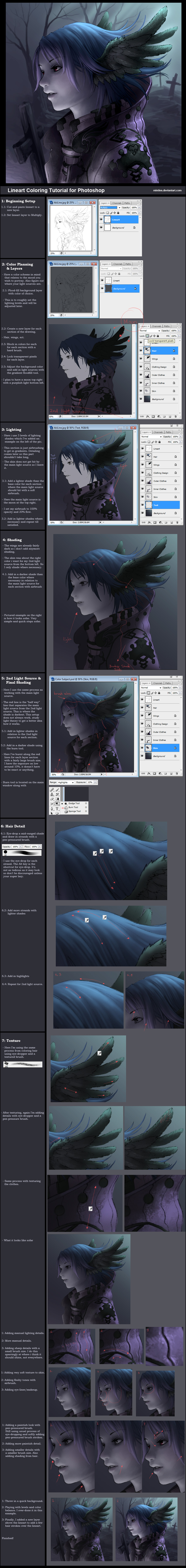 Tutorial: Lineart Coloring