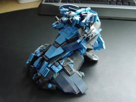 Lego Wraith Mortar Tank by linearradiation