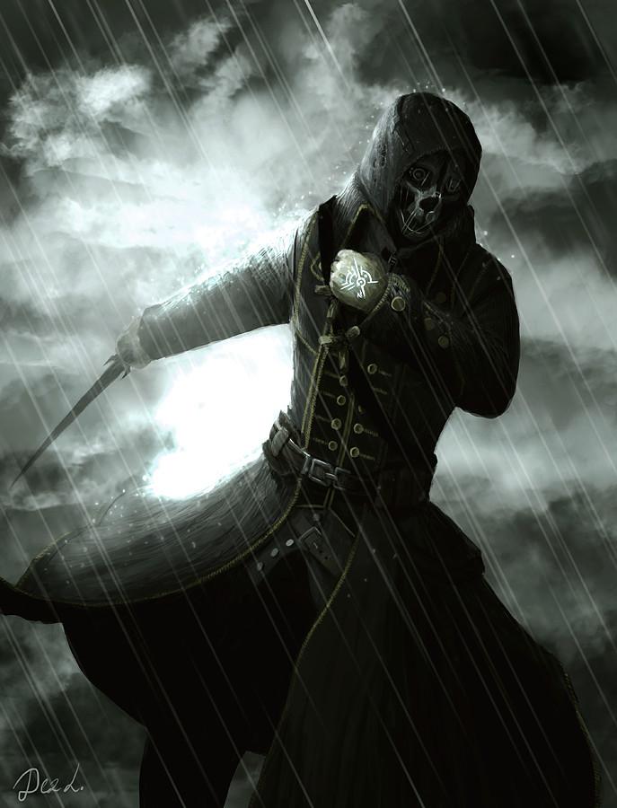 Dishonored Corvo Attano By Dezilon
