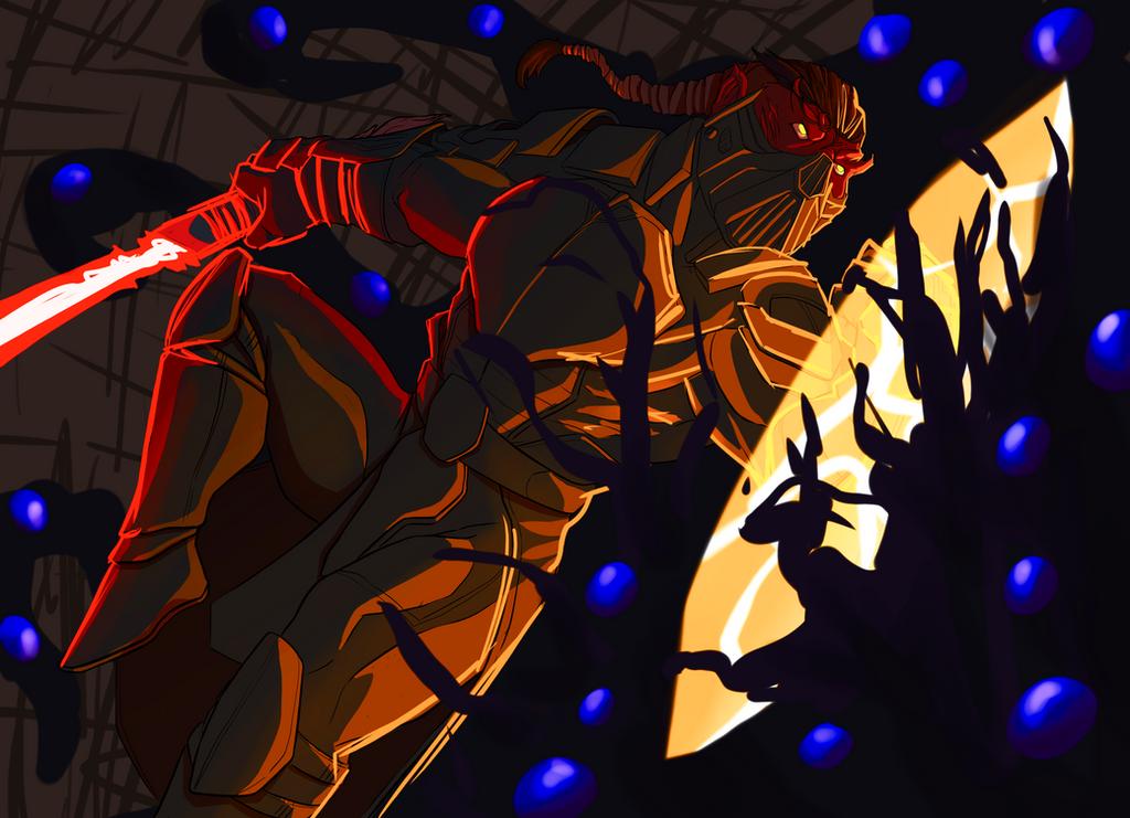 Shadows in the dark by blazeorson